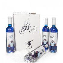 blue wine, gik blå bin