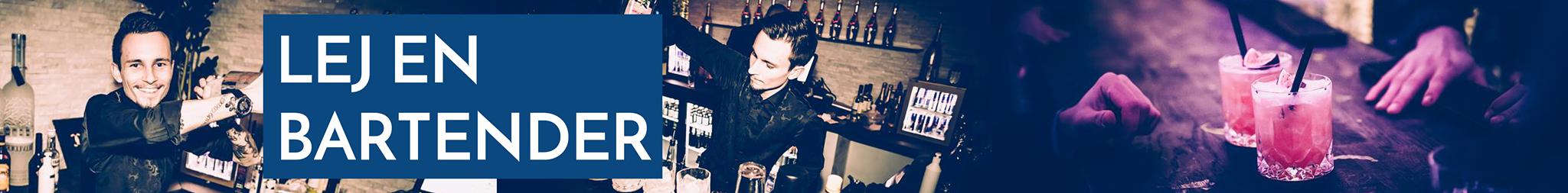 Lej en bartender